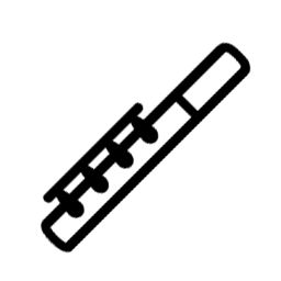 dwarsfluit icon